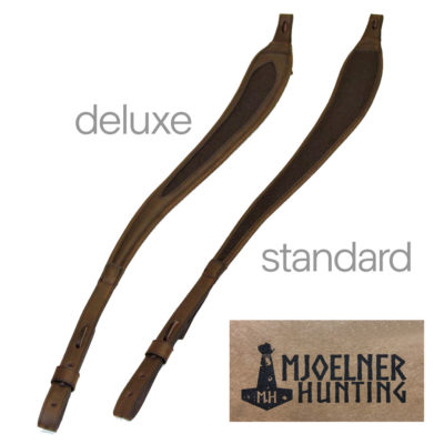 Leather & Loden Ergonomic Rifle Slings (RRP £34.99 & £39.50)
